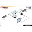 Gefen GTB-UHD-HBTL 4K Ultra HD HDBaseT Extender with 2-way IR and POL