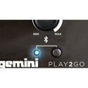 Gemini PLAY2GO Portable PA with Bluetooth/SD/USB