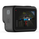 GoPro HERO8 Black with Unshakable HyperSmooth 2.0 Stabilization & Built-in Mounting