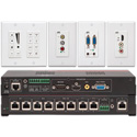 Hall Research VSA-51-R 5x1 Digital AV Control Switch-Cat Receiver