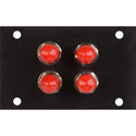 Camplex HYMOD-1R07 4 Senko ST Fiber Feedthru Module for 1RU HYMOD Systems