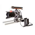 Ikan BMPCC-PWR-1RD-C BMC Pocket Cine Cam Single Rod DV Kit - Canon 900