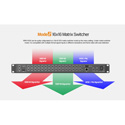 Lilliput AVMATRIX MMV1630 1RU 16 channel 3G-SDI MVS-16 Multiviewer & Switcher