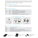Listen Technologies LKS-3 ListenTALK Collabor-8 System 8-Person Assistive Listening & Intercom System with 8 Headsets