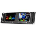 Marshall M-LYNX-702W Dual 7 Inch High Resolution Rack Mount Display with Waveform SDI & HDMI Inputs