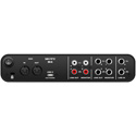 Motu M4 USB Audio Interface with Studio-Quality Sound with 4 Inputs and 4 Outputs