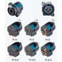 Neutrik NCJ6FA-H 3 Pole XLR-F w/1/4 Inch Stereo Jack (Horizontal PCB)