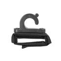 Portabrace ATV-BMPH Boom Pole Clip and Attachment Wrap - Black