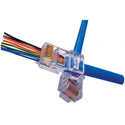 Platinum Tools 202003J EZ-RJ45 CAT5/5e Connectors for Solid or Stranded Conductors - Jar of 100
