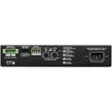 QSC SPA2-200 200W 2 Channel ENERGY STAR Amplifier - 1RU - 1/2 Rack Space
