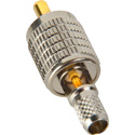 Heavy Duty 75ohm RCA Video Solder-Type Connector with Crimp Sleeve