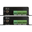 Sescom SES-FA8UB 8-Channel Unbalanced Audio Over a Single ST Fiber Extender with Phoenix Style Connectors