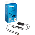 Shure RMCE-BT2 High-Resolution Bluetooth 5 Earphone Communication Cable for Qualcomm / aptX / AAC & SBC Audio Codecs