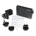 StarTech ET91000SM402 1000 Mbps Gigabit Single Mode Fiber Media Converter SC 40 km