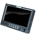 SWIT S-1071F 7 Inch HDSDI & HDMI Waveform LCD Monitor with S-7004F Battery Mount for Sony L Series