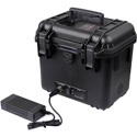 SWIT S-4030 4-Battery Power Station Box with Dual 24V DC Output - V-Mount
