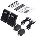 Tripp Lite B127-1A1-WHD1 Wireless HDMI Extender - 4K @ 30Hz with Zero Latency / 7.1 Audio / HDCP 2.2 - 98 Feet (30 m)