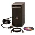 Tripp Lite BC600SINE 600VA 375W UPS Battery Back Up Pure Sine Wave PFC Tower 120V USB