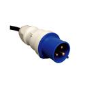 Tripp Lite PDUH32HV19 7.4kW Single-Phase Basic PDU 230V Outlets (4-C19) IEC309 32A Blue 12 Foot Cord 1U Rackmount