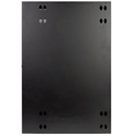 Tripp Lite 18U Low-Profile Wall-Mount Rack Enclosure Cabinet Double Hinge Removable Side Panels 36H x 24W x 13D