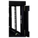 Tripp Lite 6U Low-Profile Wall-Mount Rack Enclosure Cabinet Removable Side Panels 15H x 24W x 22D