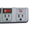 Tripp Lite TLP76MSG Eco Green Surge Protector Switched 7 Outlet Conserve Energy