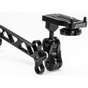 Ultralight Dual Clamp with 8 Inch Double Ball Arm 3/8 to Monitor Bracket