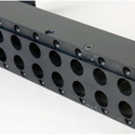Canare VJ2-L26-1U Unloaded Patch Panel for 26 DVJA Jacks 1RU - Metal