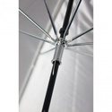 Westcott 2003 32-Inch Optical White Satin Collapsible Umbrella