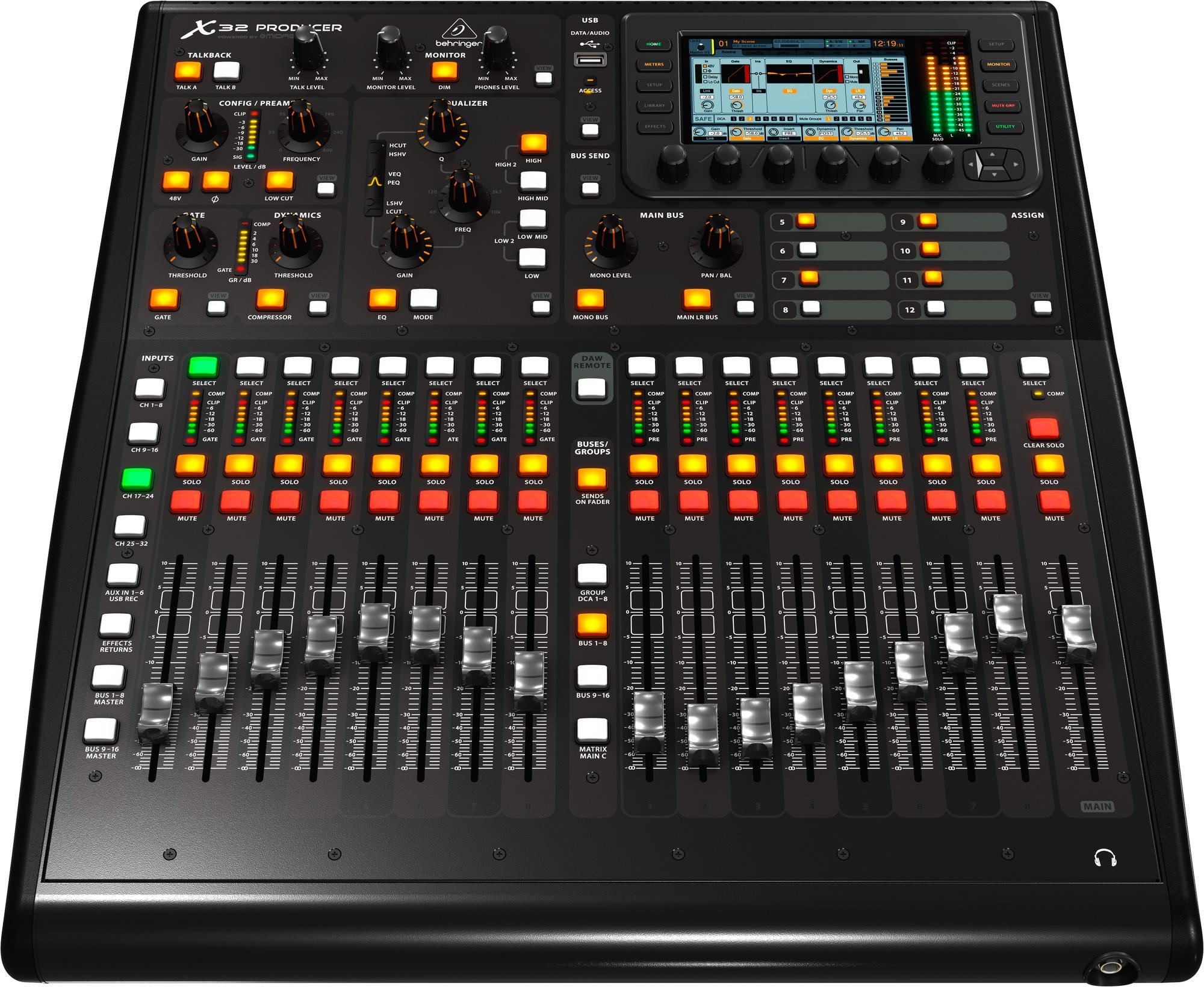Behringer X32 Producer 40 Input 25 Bus Rack Mixer