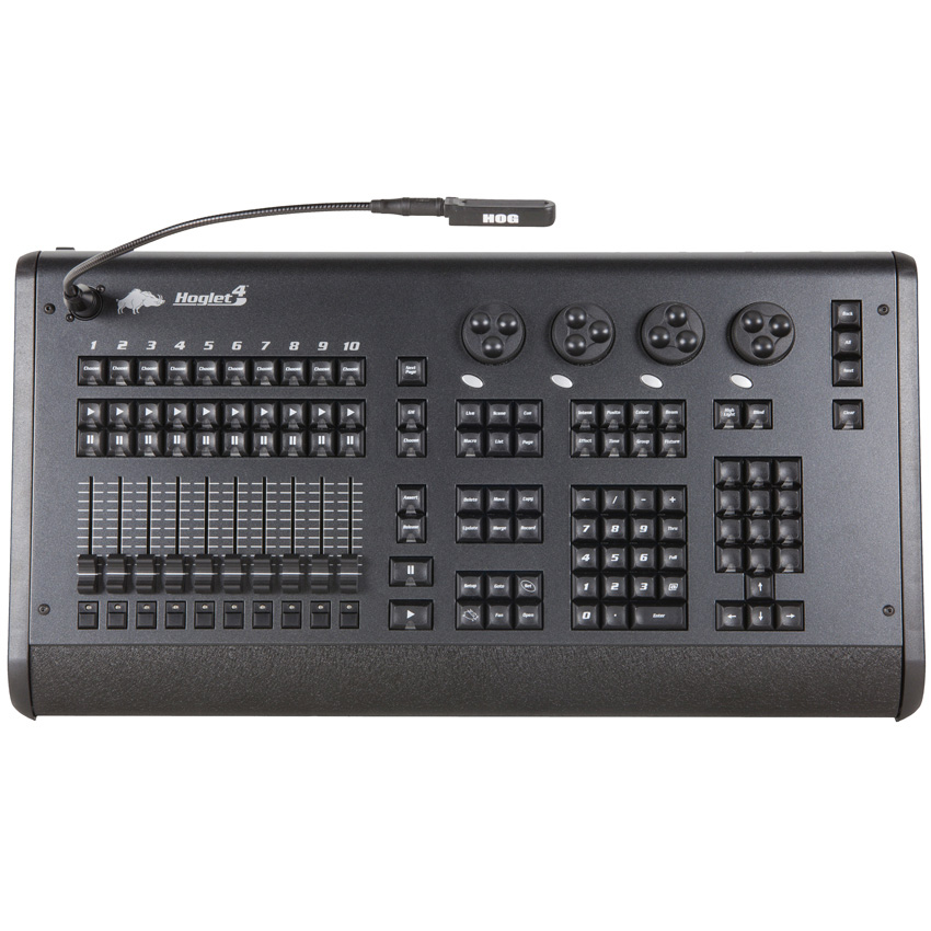 elation professional hog402 hoglet 4 lighting control console. Black Bedroom Furniture Sets. Home Design Ideas