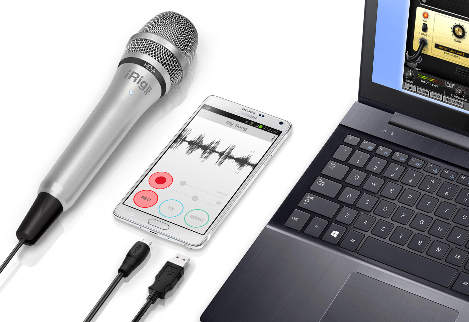 Ik Multimedia Irig Mic Hd A Handheld Digital Condenser