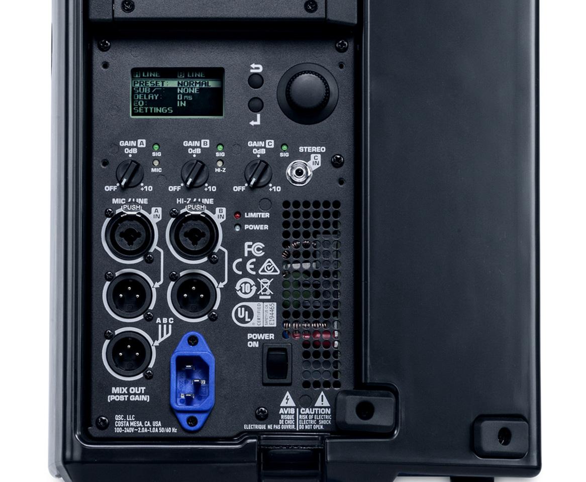 Qsc K8 2 8 Inch Two Way 2000w Powered Loudspeaker
