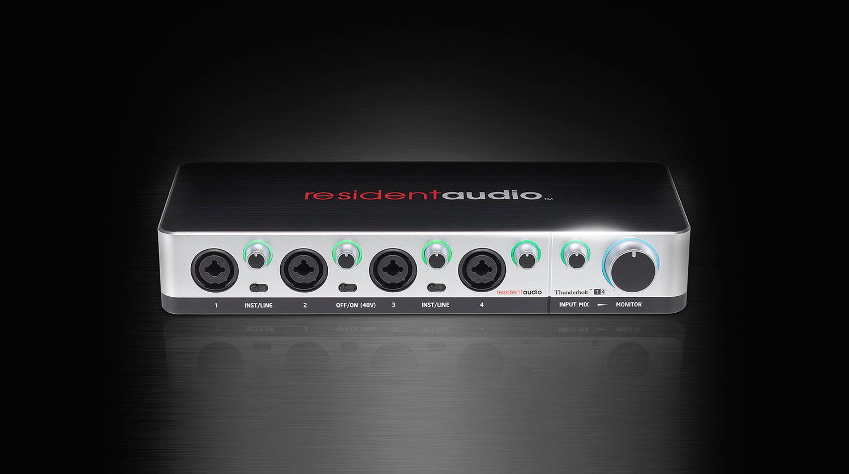resident audio t4 thunderbolt audio interface. Black Bedroom Furniture Sets. Home Design Ideas
