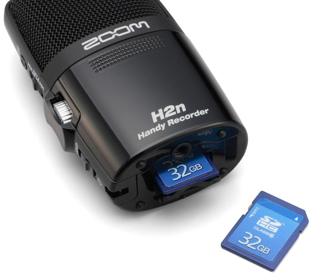 zoom h2n handy recorder portable digital audio recorder. Black Bedroom Furniture Sets. Home Design Ideas