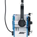 Arri L1.39610.I True Blue T1 Fresnel Spotlight Pole Operated Blue/Silver Bare Ends