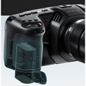 Blackmagic Design BMD-CINECAMPOCHDMFT4K Pocket Cinema Camera 4K - Body Only