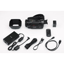 Canon VIXIA HF GX10 HD Camcorder Kit - Lens Hood Barrier Battery Pack BP-828 Compact Power Adapter CA-946