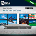 CE Labs DVPS44 4×4 HDMI Matrix Video Wall Processor