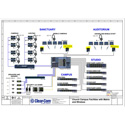 ClearCom FSII-TCVR-24-US FreeSpeak II Active Transceiver Antenna for FreeSpeak II 2.4GHz Wireless Beltpacks