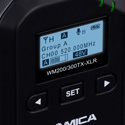 Comica CVM-WM200300XLR UHF Metal XLR Wireless Transmitter