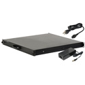 Delvcam DELV-3GHD-17RD 17.3 inch 1RU Rack Drawer 3G-SDI Video Monitor with Cross Conversion