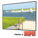 Draper 252197 165 Inch 16:10 Matt White XT1000V Clarion Screen