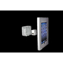 FSR WE-IPD2-SLV iPad 2 Enclosure - Silver -  Mounts on 2 Gang Box