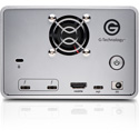 G-Tech 0G05763 G-RAID Removable with 2x Thunderbolt 3 2-Bay Storage and Enterprise Class 7200RPM HDD - 20TB - Silver
