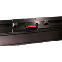 Gator GKPE-61-TSA ATA Molded PE Case w/ TSA Latches & Wheels for 61 Note Keyboards