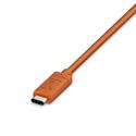LaCie STFR2000800 2TB Rugged Portable Hard Drive - USB-C - Orange