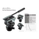 Libec ALLEX H - Head With Pan Handle
