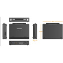 AVMATRIX PVS0613 Portable 6 Channel SDI/HDMI Multi-Format Video Switcher