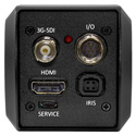 Marshall CV346 Compact HD Camera (HDMI 3G/HD-SDI) - RS485 and Audio Embedding - with CS Lens Mount (sold separately)
